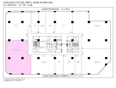 长沙湾广场 第1期-标准平面图
