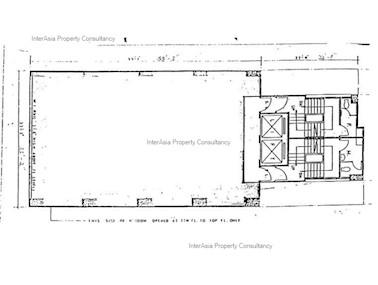 宝基大厦 -标准平面图