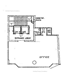 永安祥大厦 -标准平面图