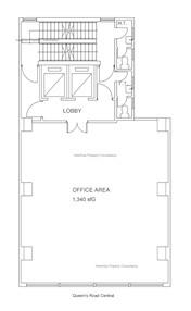 百佳大厦 -标准平面图