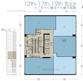东贸广场 -标准平面图