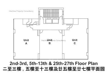 东区商业中心 -标准平面图