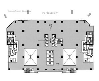 Harbourside HQ -标准平面图