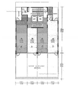 均峰商业大厦 -标准平面图
