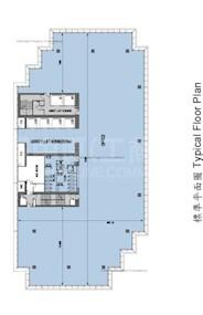 太古广场3座 -标准平面图