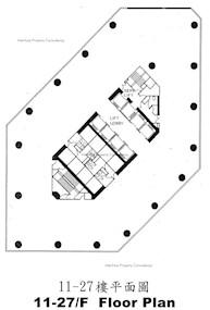 会展广场办公大楼 -标准平面图