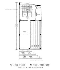 凯基商业大厦 -标准平面图