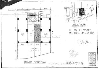 永昌商业大厦 -标准平面图