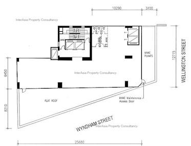 威灵大厦 -标准平面图