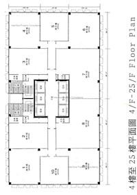 东美中心 -标准平面图