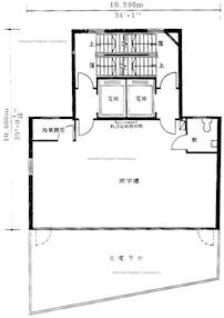 天安城商业大厦 -标准平面图