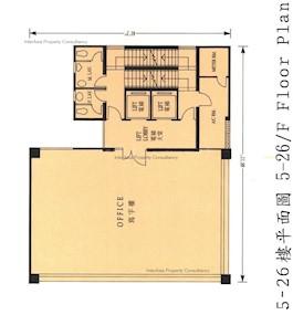 骆克道88号 -标准平面图