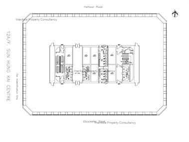 新鸿基中心 -标准平面图