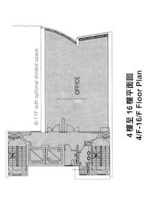 砵典乍街10号 -标准平面图