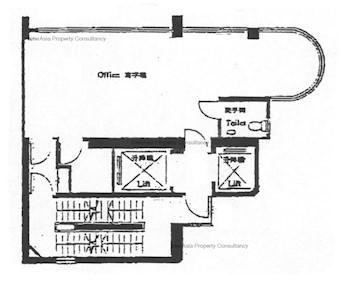 德辅道西一号 -标准平面图