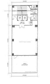 锦甡大厦 -标准平面图