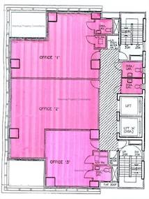 汉国佐敦中心 -标准平面图