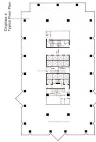 太古城中心4期 -标准平面图