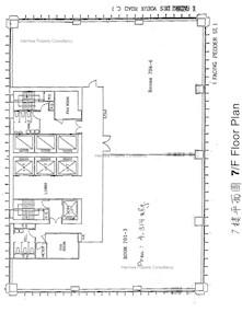会德丰大厦 -标准平面图