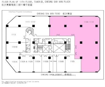 长沙湾广场 第2期-标准平面图