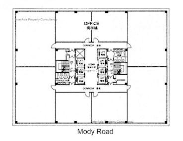 冠华中心 -标准平面图