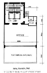天厨商业大厦 -标准平面图