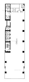 中国五矿大厦 -标准平面图