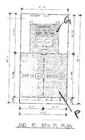 亨宁商业大厦 -标准平面图