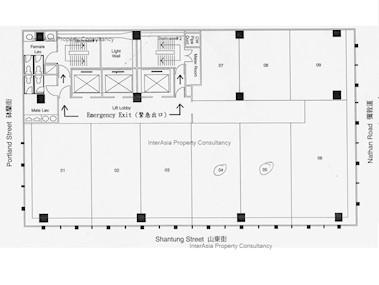 雅兰中心 二期-标准平面图