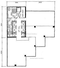 帝纳大厦 -标准平面图