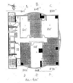 华汇广场 -标准平面图