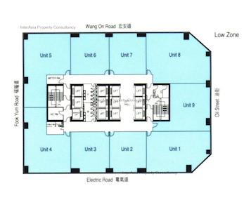 友邦广场 -标准平面图