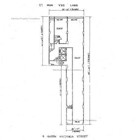 利隆大厦 -标准平面图
