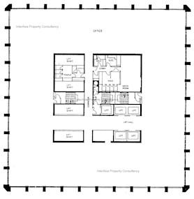 公爵大厦 -标准平面图