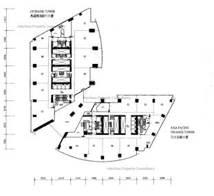 冠君大厦 -标准平面图