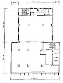 海外银行大厦 -标准平面图