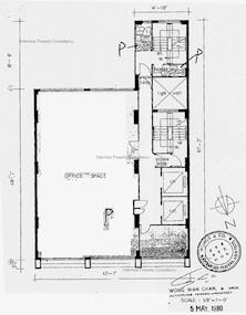 三台大厦 -标准平面图