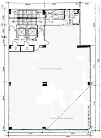 豫港大厦 -标准平面图