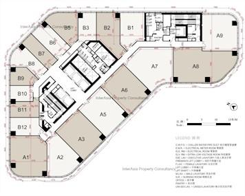 荔枝角道888号 -标准平面图