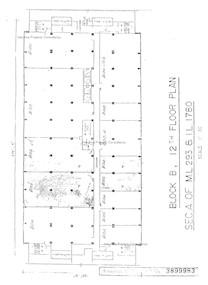 海景大厦B座 -标准平面图