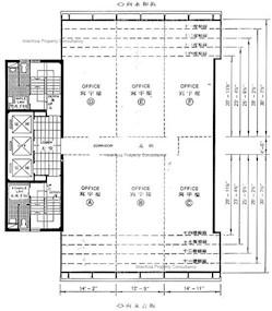 诚利商业大厦 -标准平面图