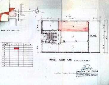 长利商业大厦 -标准平面图