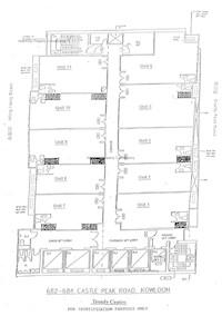 潮流工贸中心 -标准平面图