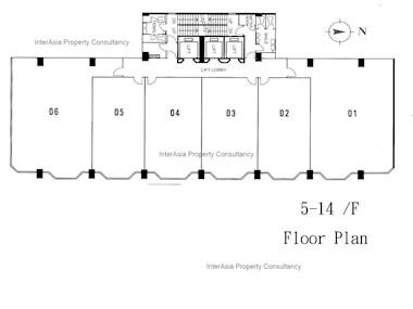 其士大厦 -标准平面图
