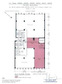 振邦大厦 -标准平面图