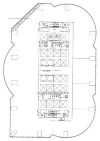 交易广场2座 -标准平面图