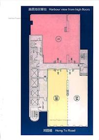 明顺大厦 -标准平面图