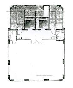 宜发大厦 -标准平面图