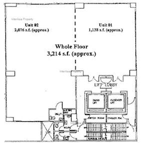 安泰大廈 -標準平面圖