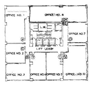 联发商业中心 -标准平面图